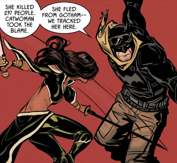 does batman hook up with catwoman stories about dating a drug dealer