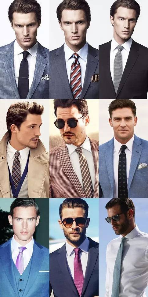 What Shirt Colour Is It Acceptable To Wear With A Navy Suit And Combination Of Colours Would Then Be For Ties Pocket Squares Quora