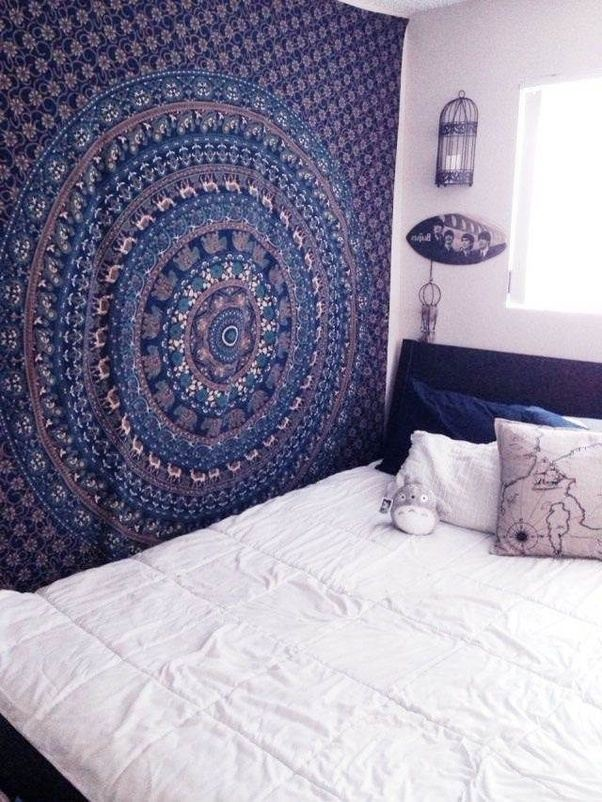 i purchased also one of tapestry for my own wall from handicrunch its really good and increase the appearance and look of my home decor - Bedroom Tapestry