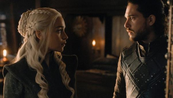 Snow will daenerys jon marry Game of