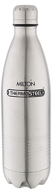 a857ef891b7  3 Milton Thermosteel Duo Deluxe-1000 Bottle Style Vacuum Flask