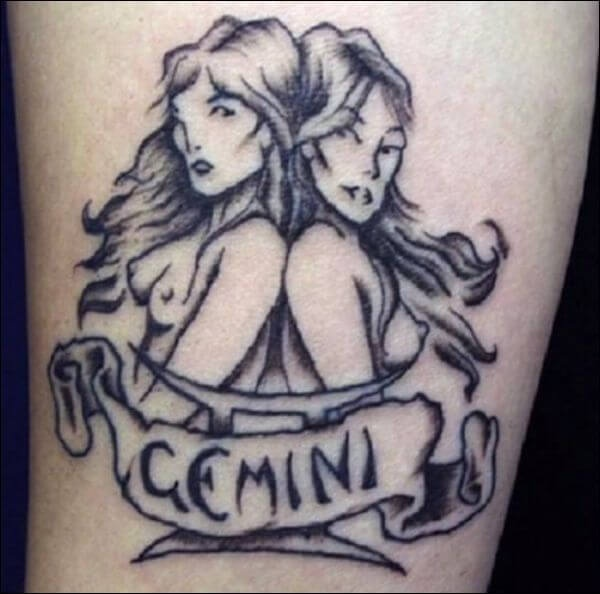 what are some cool gemini tattoo designs quora. Black Bedroom Furniture Sets. Home Design Ideas
