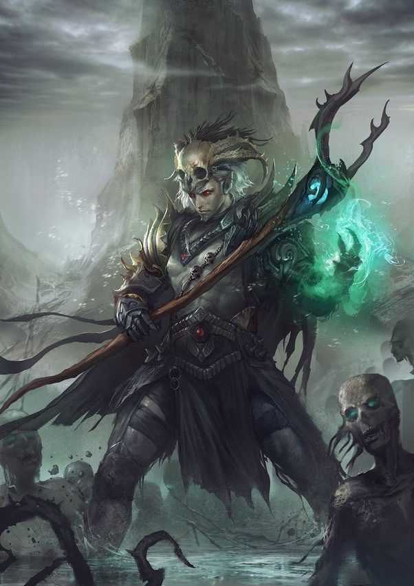 What would be the most terrifying lich you could think of