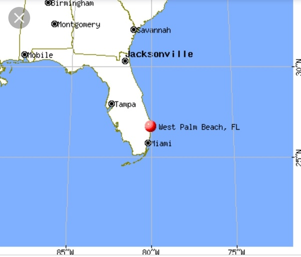 Where Is Florida Located On The Map.Where Is Palm Beach Florida Located On The Map Quora