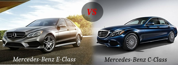 What is the main difference between Mercedes E-class and