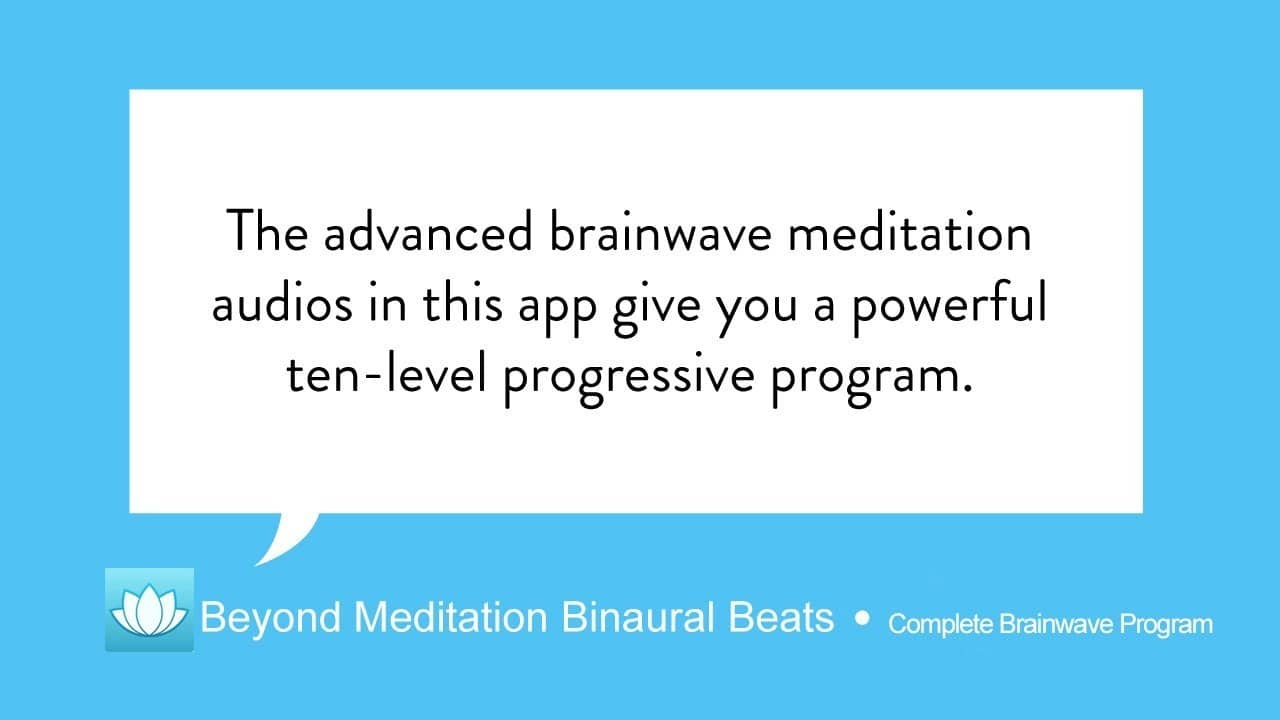 Which is the best binaural beat meditation, healthy and fitness app