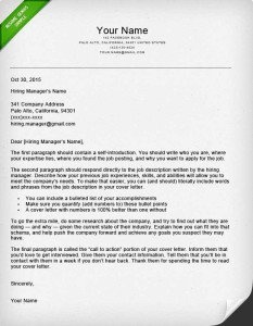 How To Write A Good Cover Letter For Post Doctorate Research