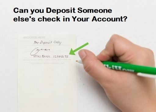 source can you deposit someone elses check in your account - Can You Deposit A Check To A Prepaid Card