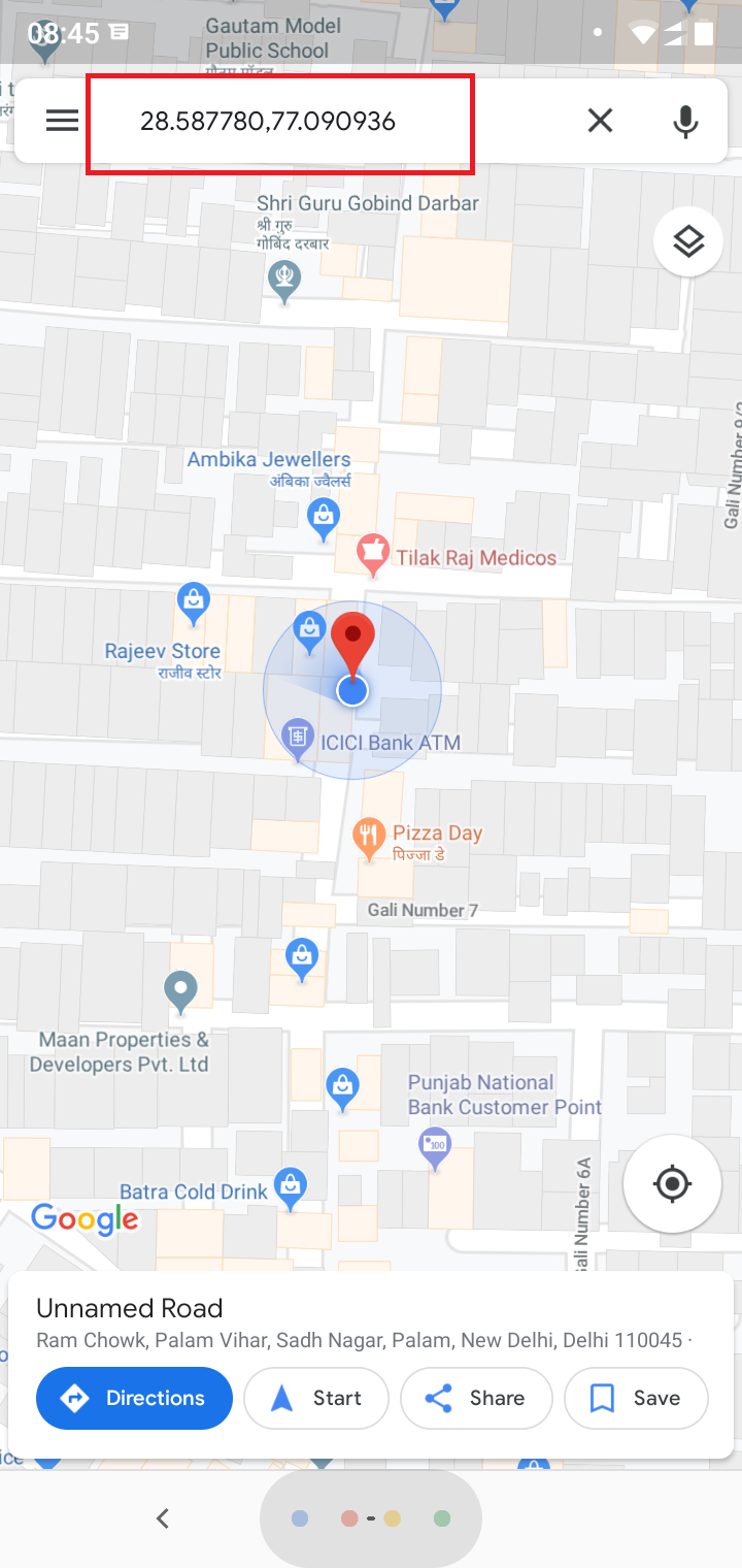 How To Get My Location Coordinates On Google Map Quora