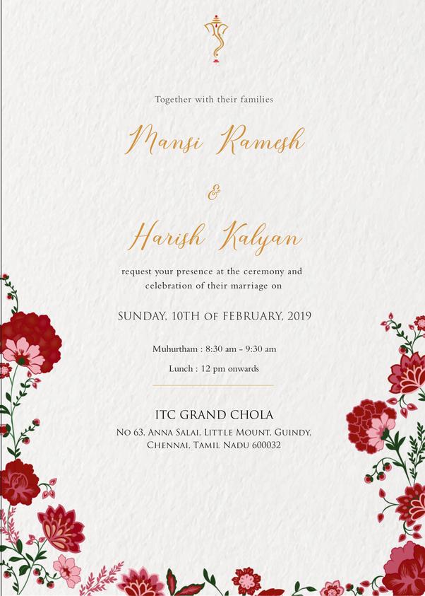 Interesting Ideas For Wedding E Invite