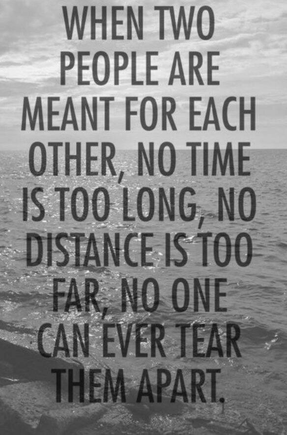 Keeping a long distance relationship