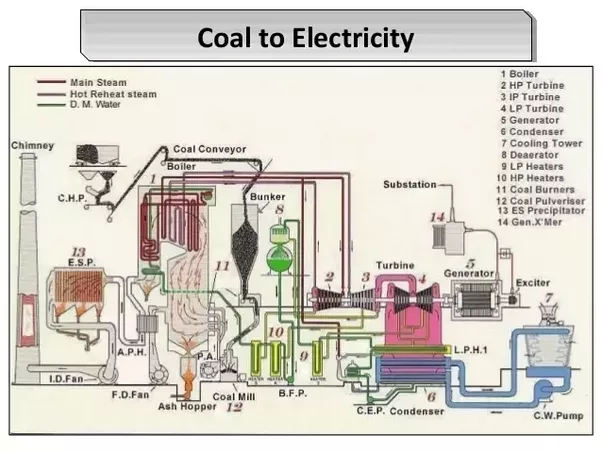 What Is The Block Diagram Of A Thermal Power Station