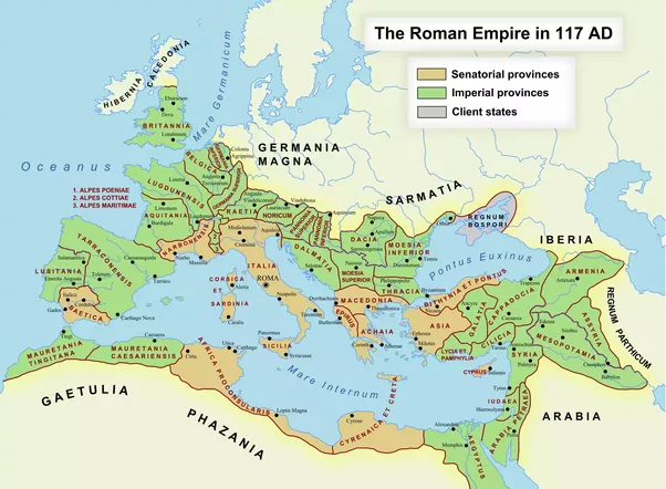 Was The Roman Empire A Truly Centralized Government Quora