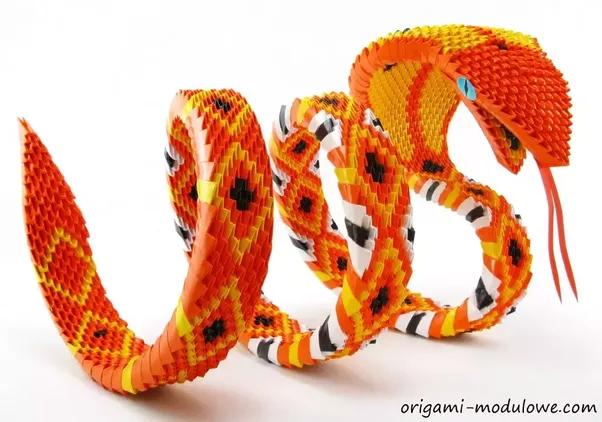 Complex Modular Origami Photo Credit To Modulowe