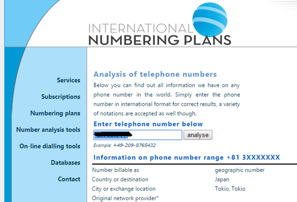 How to get any mobile number information and location - Quora