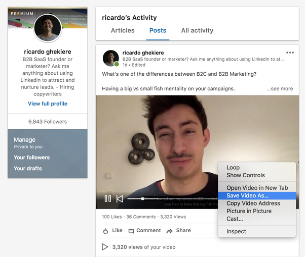 How to download videos from LinkedIn app - Quora