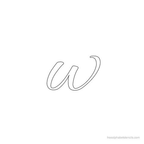 EDIT As My Friend Sandeep Kumar Mentioned One Of The Reasons It Being Called Double U Might Be Its Shape When We Write In Cursive