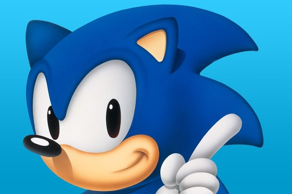 What Color Hair Does The Sega Character Sonic The Hedgehog Have Quora