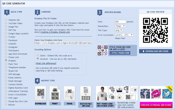 How to add a QR code to your project so that when scanned a
