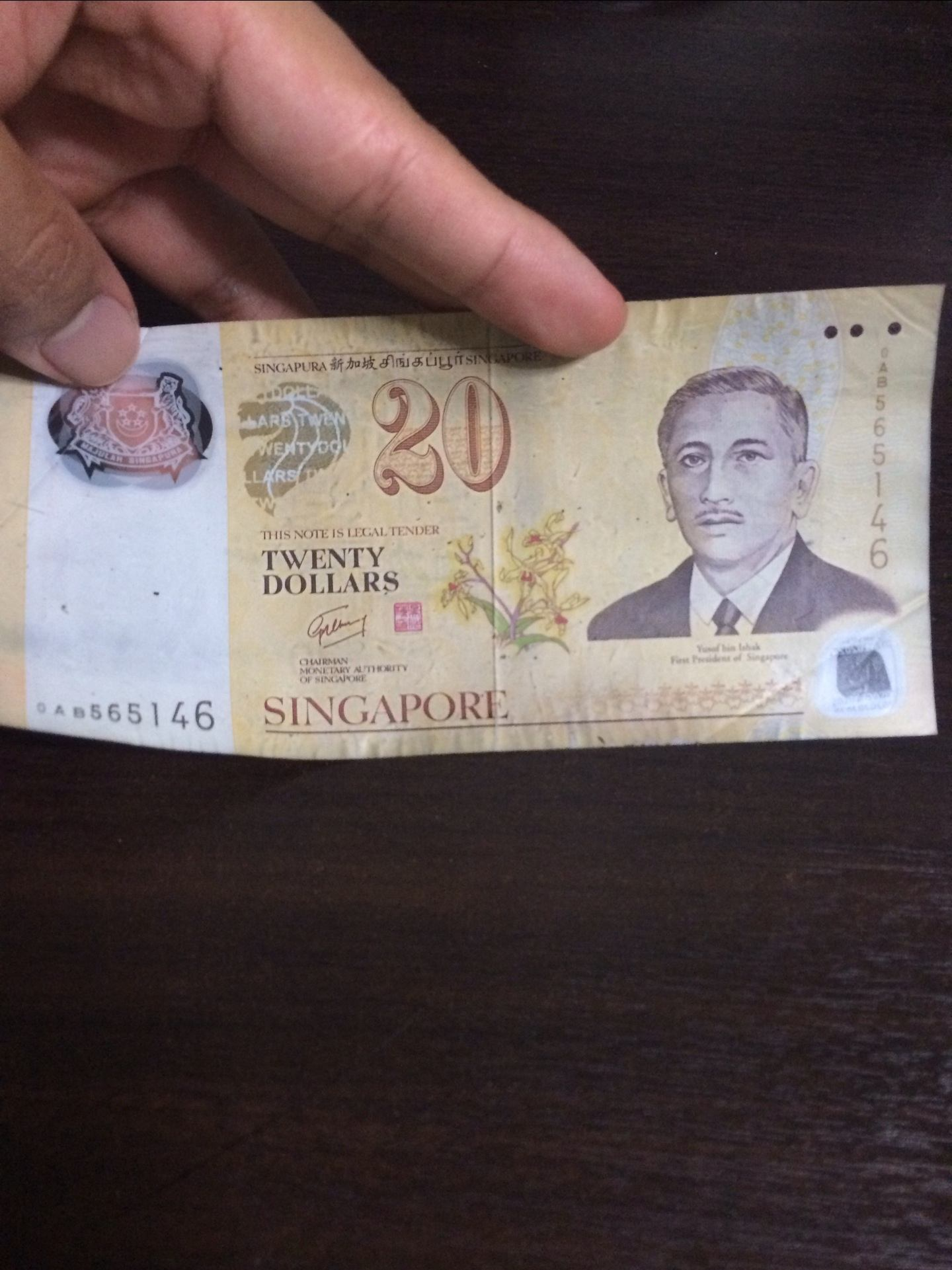 Why is there no $20 note in Singapore? - Quora