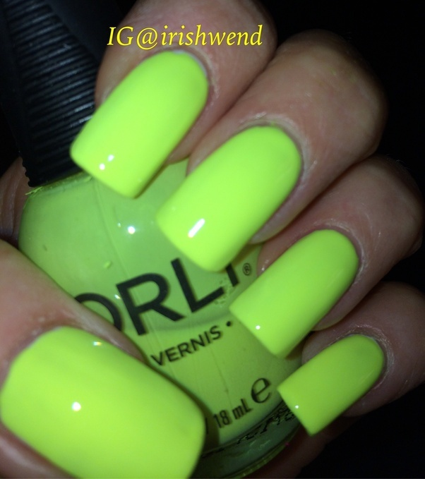 What is the best bright yellow nail polish? - Quora