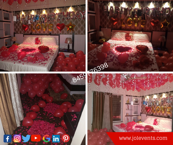 So Check Out These Awesome Surprise Decoration Ideas For 17th Birthday Of Your Girlfriend