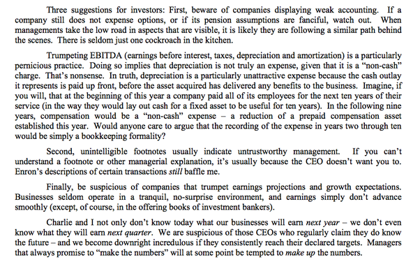 What are the 5 key points in a companys sec 10k10q report you how to read a 10 k like warren buffett sciox Gallery