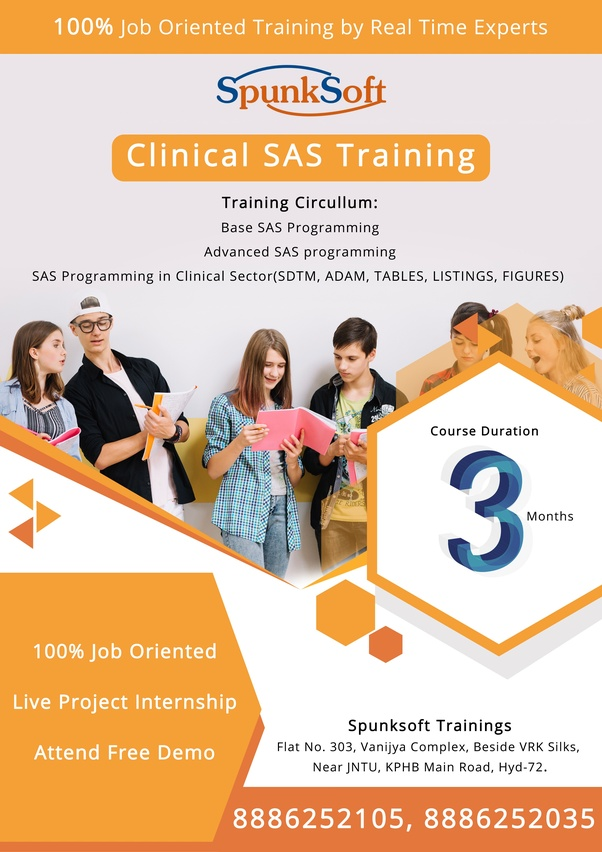 Which is the best institute for sas training in hyderabad