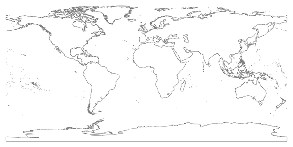 Map Of The World No Borders.Which Countries Don T Have Borders Quora