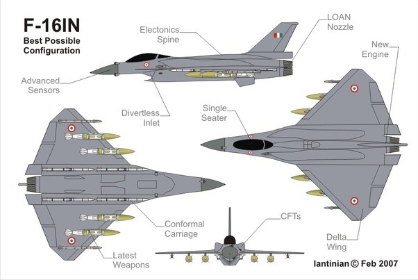 Why didn't the US build a stealth version of F 16 as a ...