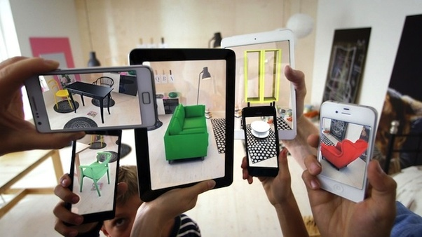 Ikea Place Is A Great Example Of Augmented Reality That Not Necessarily Flashy Like Virtual But Presents Concrete Examples E Commerce