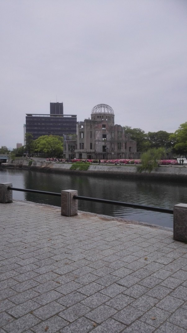 What does hiroshima and nagasaki look like now quora above the building is where the bomb exploded thecheapjerseys Gallery