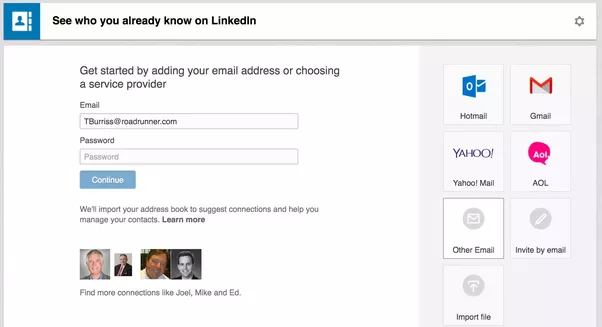 how to cancel sent request on linkedin