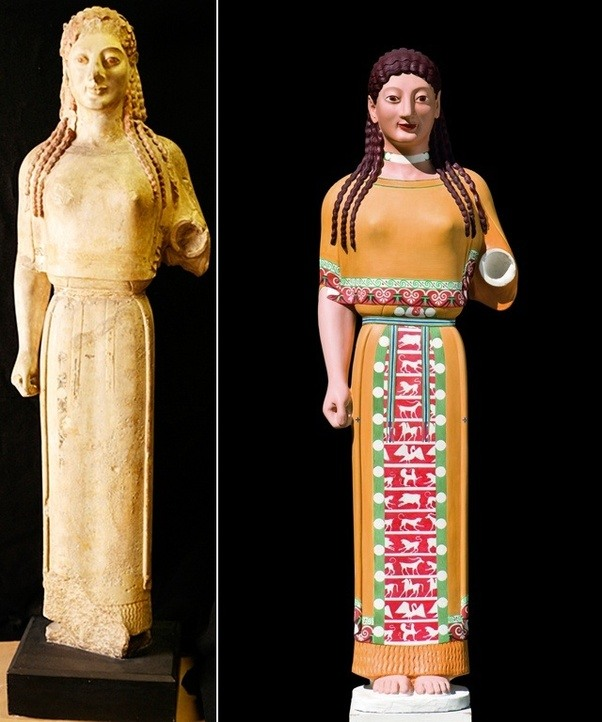 Were Roman Statues Painted?