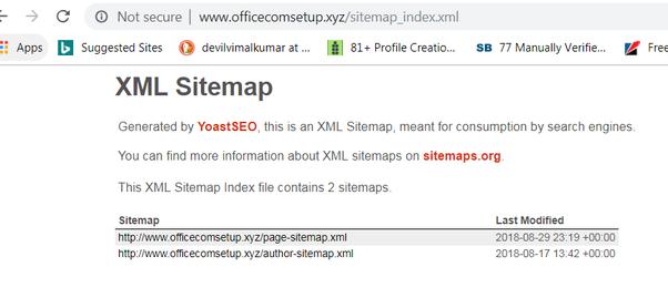 Officecomsetup Xyz Sitemap Index Xml
