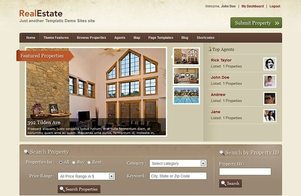 How to download free real estate Wordpress themes - Quora