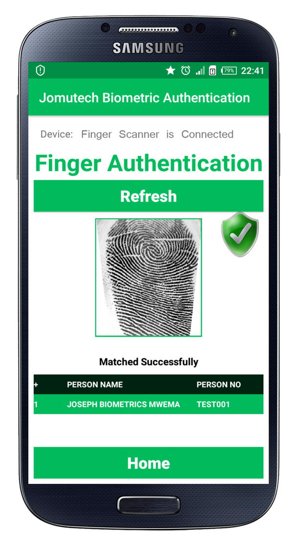 How to upload finger prints in database using Android code - Quora