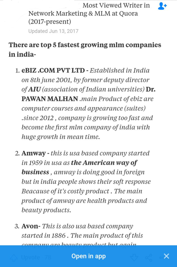 How Multilevel Marketing Companies Got >> What Network Marketing Companies Are Wise To Get Into Quora