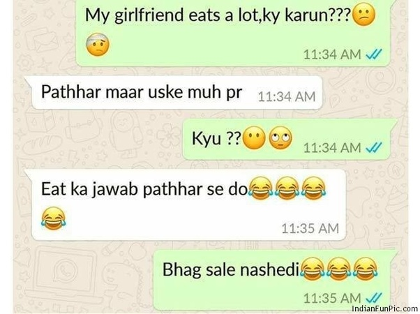 What are some of the best and funny WhatsApp conversations