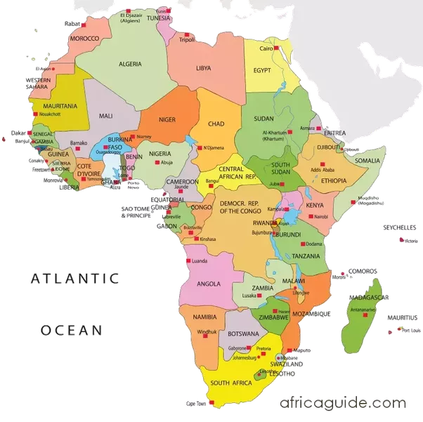 Which continent is the closest to Africa Quora