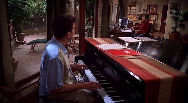 Does Charlie Sheen Know How To Play The Piano Does He Actually Play In Two And A Half Men Quora