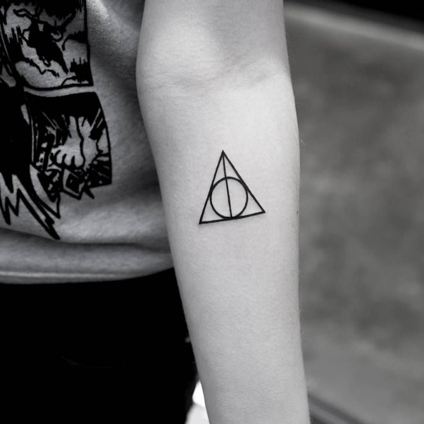 What Is The Meaning Behind Deathly Hallows Tattoos Quora