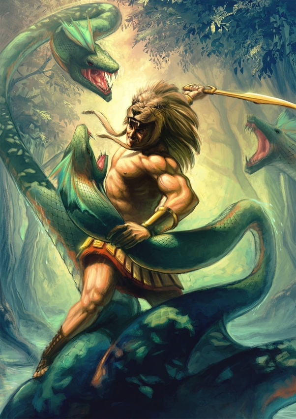 the myth of hercules and the hydra