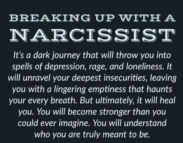 depression efter dating en narcissist