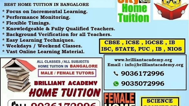 What are the home tutoring fees for a class 1 student in