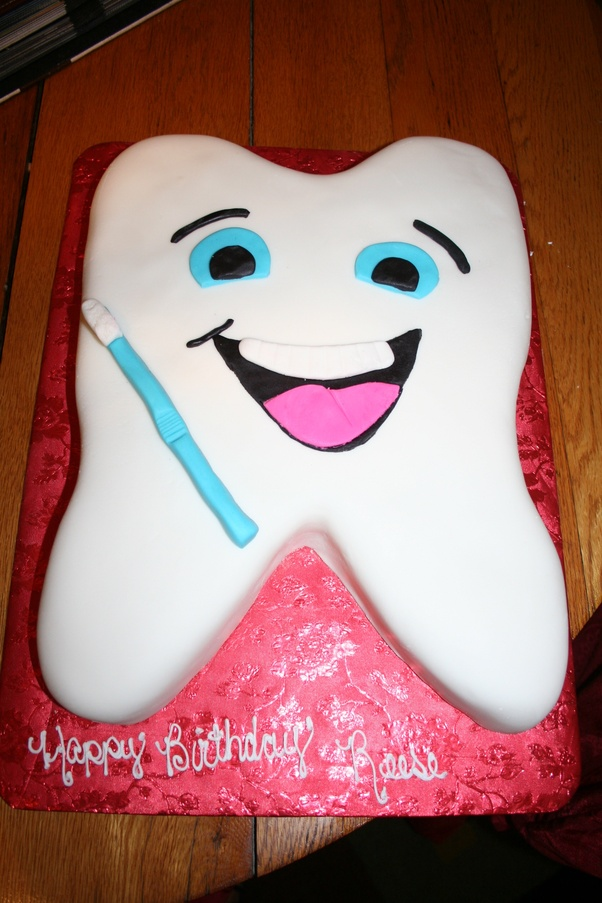 If your girlfriend is a dentist one thing you can definitely gift her is a dentist themed cake. You can contact .cakefite.com  they can make these kind ... & What should I gift to my girlfriend on her birthday related to ...