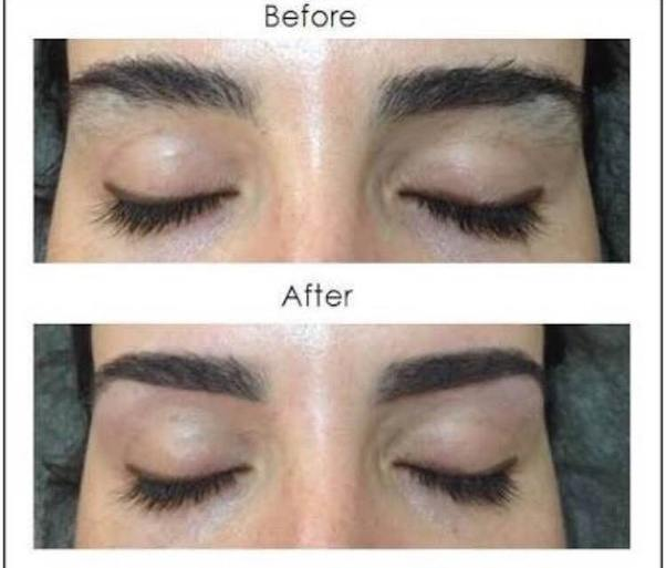 What Do Eyebrows Look Like Before And After Eyebrow Threading Quora