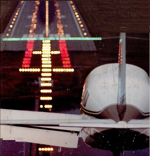 Are runway lights necessary to land if you are flying with