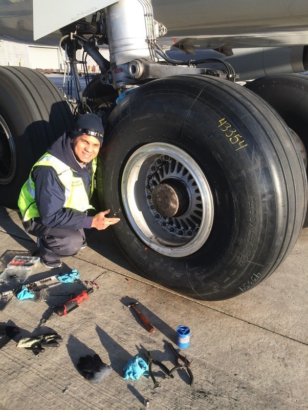 How Big Is An Airplane Tire Quora