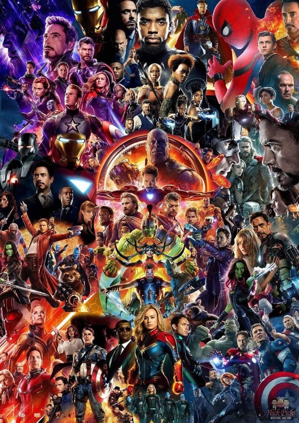 Avengers Endgame We Love You 3000 Poster